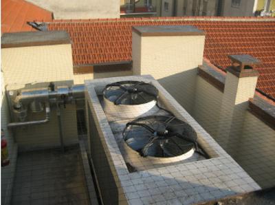 Sistemi di allontanamento e dissuasione volatili - tetto